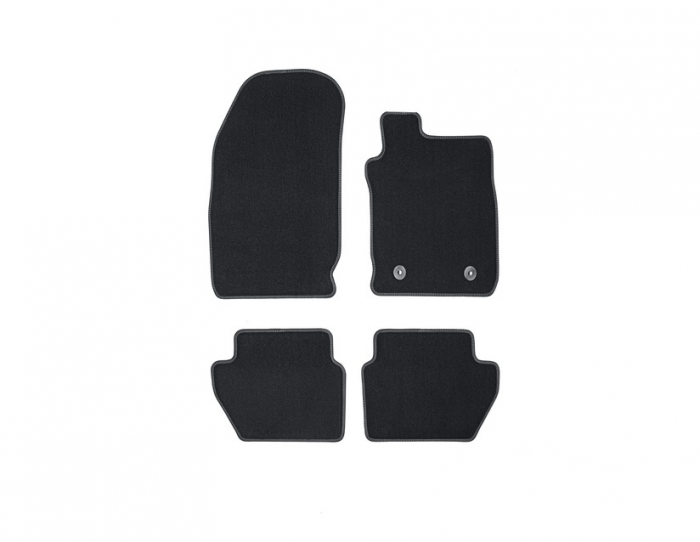 Front & Rear Premium Carpet Mat Set RHD