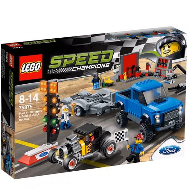 Ford F-150 Raptor & Ford Model A Hot Rod LEGO Kit