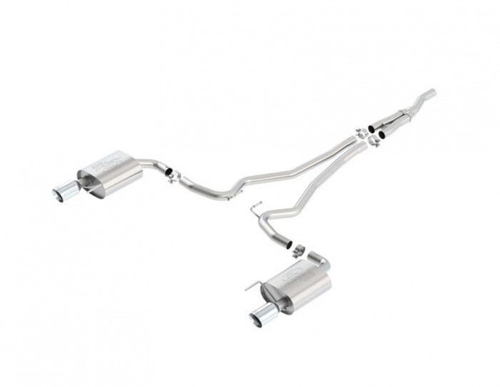 Performance Sport Cat-back exhaust with black tips