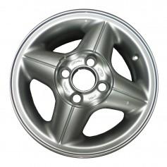 """Fiesta Alloy Wheel 14"""" x 5.5J Silver 4 Spoke from 01-08-1995 to 23-06-2006"""