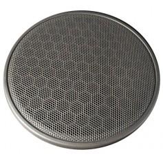 Grey speaker grille flannel
