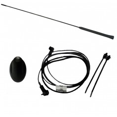 Ford C-Max, Fiesta, Focus & Kuga Aerial Base, Mast And Cable Kit For Vehicles With AM FM Radio From 23-06-2003 (See Listing)
