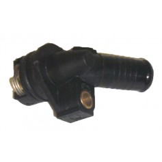 Oil cooler thermostat