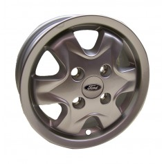 "Ka Alloy Wheel 13"" x 5J Silver 6 Spoke from 15-09-1996 to 22-09-2008"