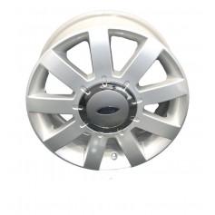 """Alloy Wheel 15"""" x 6J Silver 9 Spoke"""