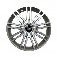 "Alloy Wheel 17"" x 6.5J Silver 9 x 2 Spoke"