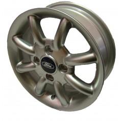 """Alloy Wheel 14"""" x 5J Silver 8 Spoke Spider"""