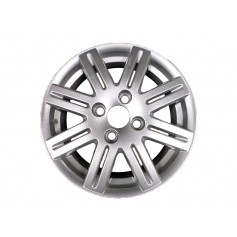 "Focus Alloy Wheel 15"" x 6J Silver 8 x 2 Spoke from 15-08-1998 to 09-05-2005"