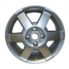 "Alloy Wheel 16"" x 6J Silver 6 Spoke"