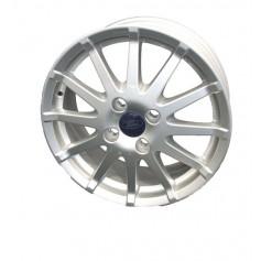 """Alloy Wheel 16"""" x 6.5J Silver 12 Spoke"""