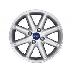 """Alloy Wheel 16"""" x 6.5J Silver 8 Spoke"""