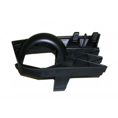 Right Hand Lower Bumper Grille With Towing Hook Cover