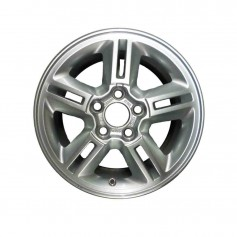 "Focus Alloy Wheel 15"" x 6J Silver 5 x 2 Spoke from 19-07-2004 to 15-01-2008"