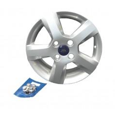 """Alloy Wheel 15"""" x 6J Silver 5 Spoke"""