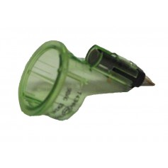 Cigarette Lighter Base Retainer Illuminated Green