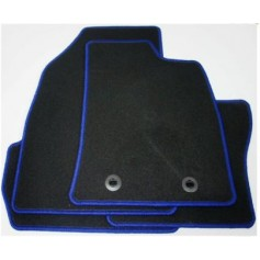 Front and Rear Velour Carpet Mat Set RHD