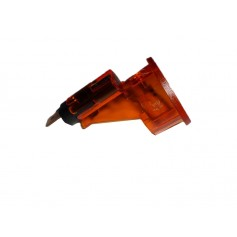 Cigarette Lighter Base Retainer Illuminated Amber