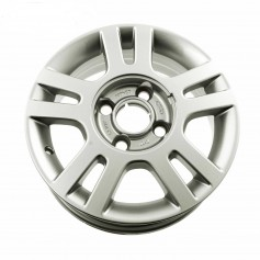 "Ka Alloy Wheel 14"" x 5J Silver 5 x 2 Spoke from 14-10-2002 to 22-09-2008"