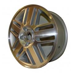 "Alloy Wheel 16"" x 6.5J Silver 5 x 3 Spoke"
