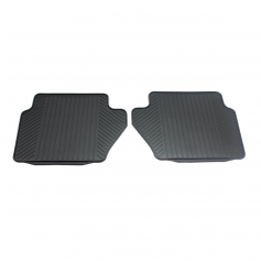 Rear rubber mats
