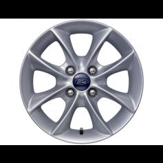 """Ka Alloy Wheel 14"""" x 5.5J Silver 8 Spoke from 22-09-2008 to 01-06-2016"""