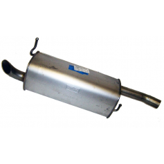 Fiesta Rear Exhaust Muffler 2005-2008