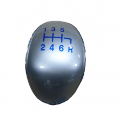 Gear Knob Insert 6 Speed With Blue Graphics