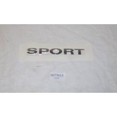 Rear Badge 'Sport'