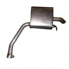 Ford Galaxy, Mondeo & S-Max 2.3L Duratec HE 160ps RH Rear Exhaust Box & Pipe From 03-09-2007 (See Listing)