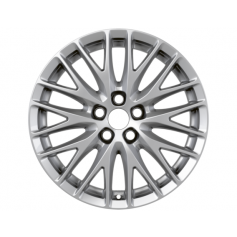 "Alloy Wheel 17"" x 7J Silver 10 x 2 'Y' Spoke"