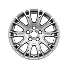 "Alloy Wheel 16"" x 7J Silver 10 x 2 spoke"