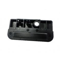 Spare wheel tool box retaining clip