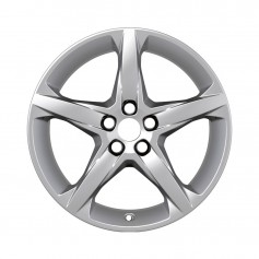 "Alloy Wheel 18"" x 8J Silver 5 Spoke"