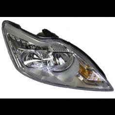 Focus Right Hand Halogen Reflector Headlamp With Aluminium Bezels