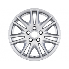 "Alloy Wheel 16"" x 7J Silver 7 x 2 Spoke"