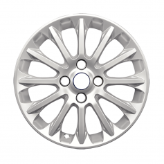 "Fiesta Alloy Wheel 16"" x 6.5J Sparkle Silver 12 Spoke Verve design from 05-11-2012 to 15-05-2017"