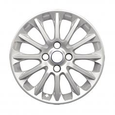 "Alloy Wheel 16"" x 6.5J Sparkle Silver 12 Spoke Verve design"