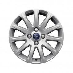 """B-Max Alloy Wheel 16"""" x 6.5J Silver 11 Spoke from 06-11-2012 onwards"""