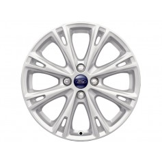 Fiesta Alloy Wheel 17'' x 7J Sparkle Silver 8 'Y' Spoke from 05-11-2012 to 15-05-2017