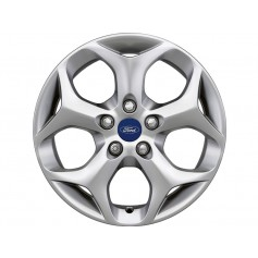 "Alloy Wheel 16"" x 7J Silver 5 'Y' Spoke"