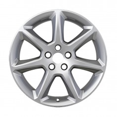 "Alloy Wheel 18"" x 8J Silver 7 Spoke"