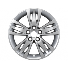 "Alloy Wheel 16"" x 7J Silver 5 x 3 spoke"