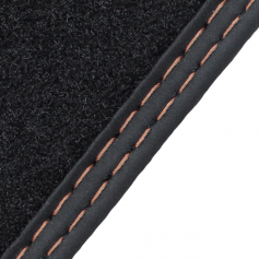 Front Premium Velour Carpet Mat Set