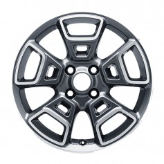 """EcoSport Alloy Wheel 17"""" x 6.0J Anthracite 5 x 2 Spoke from 07-10-2013 to 06-11-2017"""