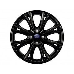 Fiesta Alloy Wheel 17'' x 7J Panther Black 8 'Y' Spoke from 05-11-2012 to 15-05-2017