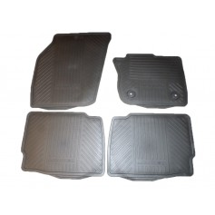 Front and Rear Rubber Mat Set RHD