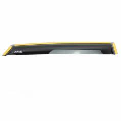 Climair Rear Door Wind Deflectors Black Fiesta 5 Door