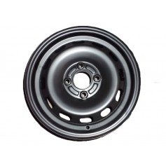 "Steel Wheel 14"" x 5.5J Semi-Styled"