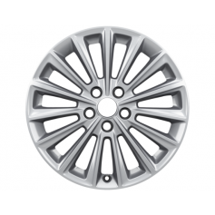 "Alloy Wheel 17"" x 7J Silver 15 Spoke"
