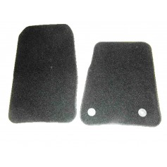 Front Velour Carpet Mat Set